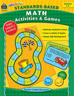 Full-Color Standards-Based Math Activities and Games (Enhanced eBook)