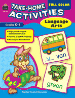 Full Color Take-Home Activities: Language Arts