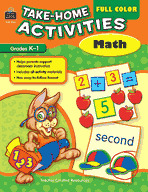 Full Color Take-Home Activities: Math (Enhanced eBook)