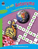 Fun with Antonyms - Crossword Puzzles and Word Searches (Enhanced eBook)