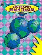 Geography Brain Teasers (Enhanced eBook)