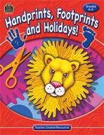 Handprints, Footprints and Holidays! (Enhanced eBook)