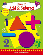 How to Add and Subtract: Grade 1 (Enhanced eBook)