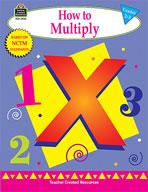 How to Multiply: Grades 2-3 (Enhanced eBook)