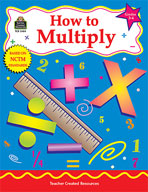 How to Multiply: Grades 3-4 (Enhanced eBook)