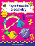 How to Succeed in Geometry: Grades 3-5 (Enhanced eBook)
