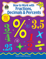 How to Work with Fractions, Decimals and Percents: Grades 4-6 (Enhanced eBook)