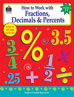 How to Work with Fractions, Decimals and Percents: Grades 5-8 (Enhanced eBook)