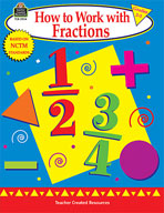 How to Work with Fractions: Grades 2-3 (Enhanced eBook)