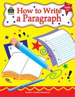 How to Write a Paragraph: Grades 3-5 (Enhanced eBook)