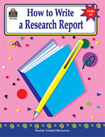 How to Write a Research Report: Grades 6-8 (Enhanced eBook)