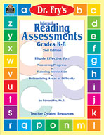 Informal Reading Assessments by Dr. Fry (Enhanced eBook)