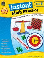 Instant Math Practice: Grade 1