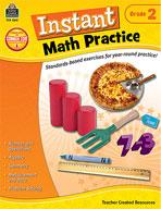Instant Math Practice: Grade 2 (Enhanced eBook)
