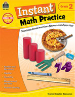 Instant Math Practice: Grade 2 (Enhanced eBook)