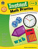 Instant Math Practice: Grade 3