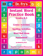 Instant Word Practice Book by Dr. Fry (Enhanced eBook)
