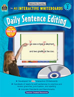 Interactive Learning: Daily Sentence Editing (Grade 2)
