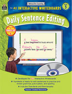 Interactive Learning: Daily Sentence Editing (Grade 3)