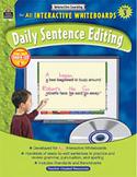 Interactive Learning: Daily Sentence Editing (Grade 3)