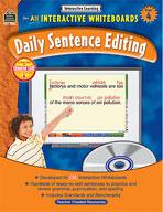 Interactive Learning: Daily Sentence Editing (Grade 4)