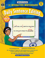 Interactive Learning: Daily Sentence Editing (Grade 5)