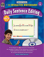 Interactive Learning: Daily Sentence Editing (Grade 6)