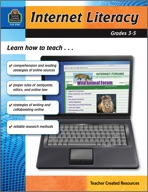 Internet Literacy: Grades 3-5 (Enhanced eBook)