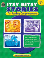 Itsy Bitsy Stories for Reading Comprehension: Grade 2 (Enhanced eBook)