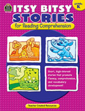 Itsy Bitsy Stories for Reading Comprehension (Kindergarten) (Enhanced eBook)