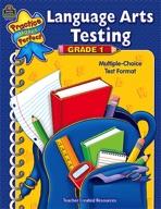 Language Arts Testing Grade 1 (Enhanced eBook)
