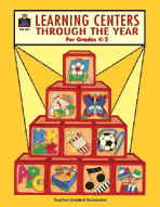 Learning Centers Through the Year (Enhanced eBook)