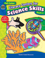 Literacy Centers for Science Skills (Enhanced eBook)