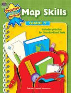 Map Skills: Grade 1 (Enhanced eBook)