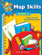 Map Skills: Grade 2 (Enhanced eBook)