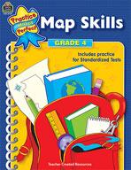 Map Skills: Grade 4 (Enhanced eBook)