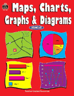 Maps, Charts, Graphs and Diagrams (Enhanced eBook)