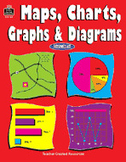 Maps, Charts, Graphs and Diagrams (Enhanced eBook)