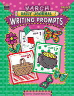 March Daily Journal Writing Prompts (Enhanced eBook)