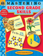 Mastering Second: Grade Skills (Enhanced eBook)