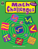 Math Challenges: Grades 5-8 (Enhanced eBook)