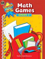 Math Games: Grade 4 (Enhanced eBook)