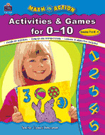 Math In Action: Activities and Games for 0-10 (Enhanced eBook)