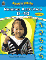 Math In Action: Number Activities 0-10 (Enhanced eBook)