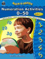 Math In Action: Numeration Activities 0-50
