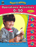 Math In Action: Operation Activities 0-50