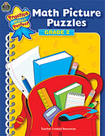 Math Picture Puzzles: Grade 2 (Enhanced eBook)