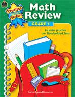 Math Review: Grade 1 (Enhanced eBook)