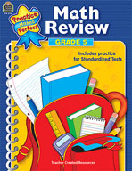 Math Review: Grade 5 (Enhanced eBook)