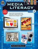 Media Literacy: Grade 5 (Enhanced eBook)